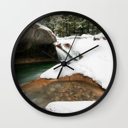 Lonesome Lake Trail Wall Clock