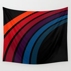 70's Rainbow Wall Tapestry