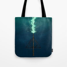 Harry Potter Deathly Hollows Expecto Patronum Tote Bag