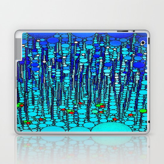 :: Blue Martini Celebration :: Laptop & iPad Skin