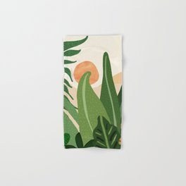 Desert Garden Sunset Hand & Bath Towel
