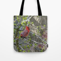 His Majesty the Cardinal Tote Bag