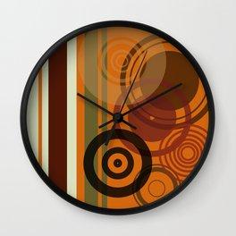 Retro Color 01 Wall Clock