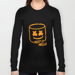 Marshmello - Keep It Mello Orange Long Sleeve T-shirt