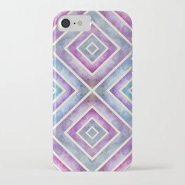 Watercolor Geometrics iPhone Case