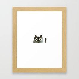 I Love Cats No.13 by Kathy Morton Stanion Framed Art Print