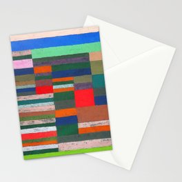Paul Klee Altimetry of Layers Stationery Cards