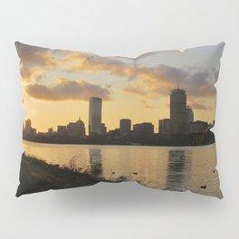 Boston at Sunrise - Massachusetts, New England Pillow Sham