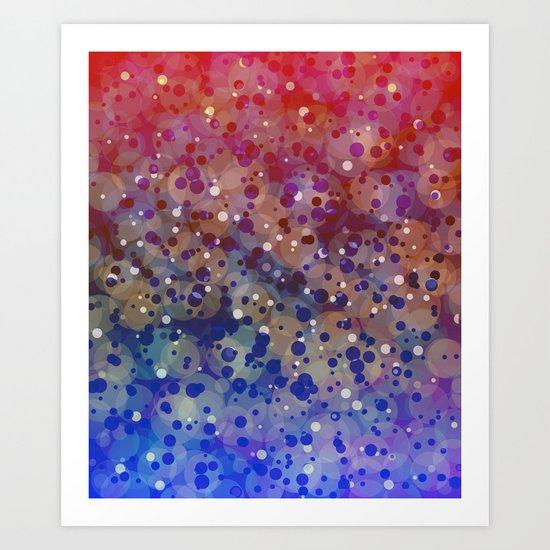 Supernova 4 Art Print