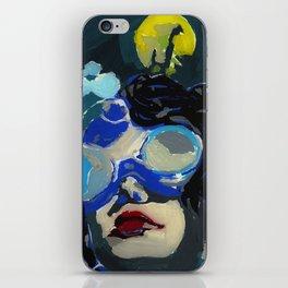 Coal miner lady IV iPhone Skin