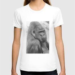 Western lowland gorilla T-shirt