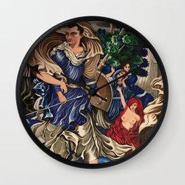 Blue Fairy, Sam Fan Art Wall Clock