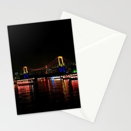 Rainbow Bridge (Odaiba) Stationery Cards