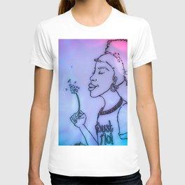 Just No (purple/pink/blue) T-shirt