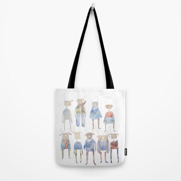 Reindeer Squad Tote Bag
