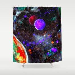 Intense Galaxy Shower Curtain