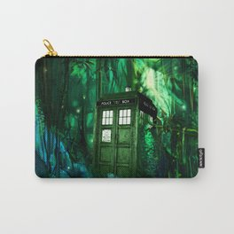 Tardis in the forest 2 Carry-All Pouch
