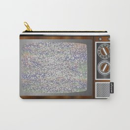 Old Television Static Carry-All Pouch