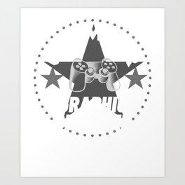 graphic-designer Gamer Gift Art Print