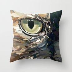 Stevie Cat Throw Pillow