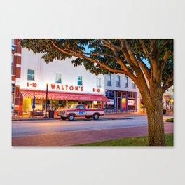 Sam Walton 1979 Ford F-150 Custom Truck - Bentonville Arkansas Canvas Print