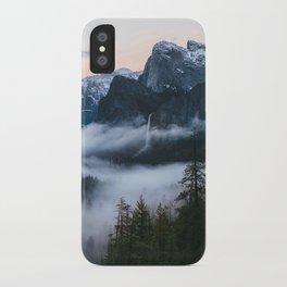 Three Brothers at Sunrise | Yosemite National Park, CA iPhone Case