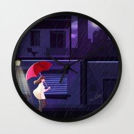 Ramona has Fallen Wall Clock