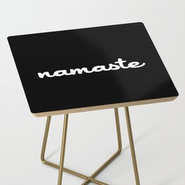 Namaste (Brush) Side Table