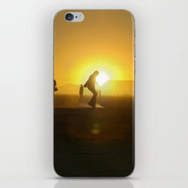 BM Silhouette iPhone Skin