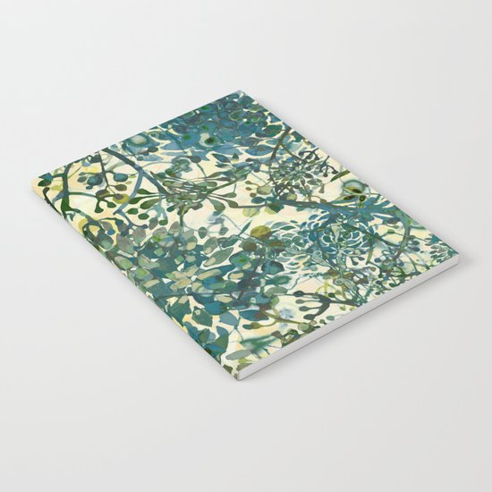 spring time emerald green Notebook
