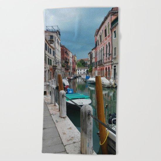 Stormy Venice Beach Towel