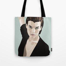 Milla Jovovich Tote Bag