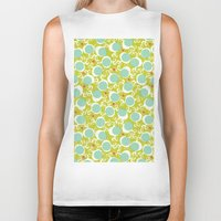 candy Biker Tanks featuring candy by ottomanbrim