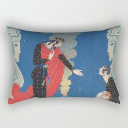 Empedocles and Panthea Rectangular Pillow