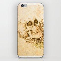 skull4 iPhone & iPod Skin