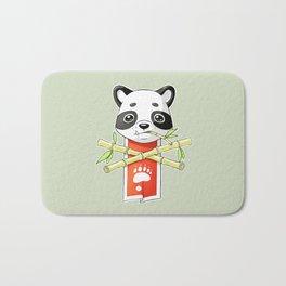Panda Banner Bath Mat