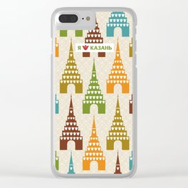 I love Kazan Clear iPhone Case