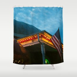 Roundhouse Shower Curtain