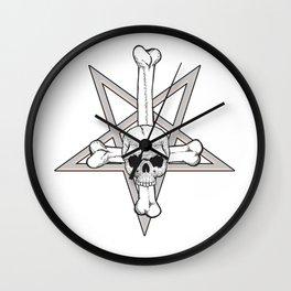 Satanica Wall Clock