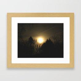 The Perfect Moon Framed Art Print