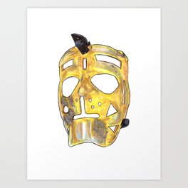 Sawchuk - Mask Art Print