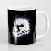 storm Mugs featuring Storm by Andrew Treherne