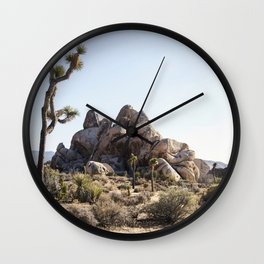 Rock Stacks Wall Clock