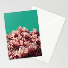 Coral pink Stationery Cards
