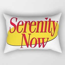 Serenity Now Rectangular Pillow