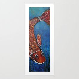Fish Tail Art Print