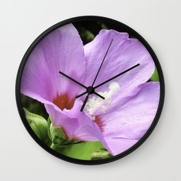 Beauty Sunbathing Wall Clock