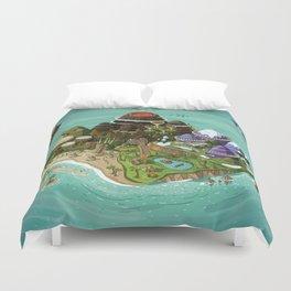 Rock Island Duvet Cover
