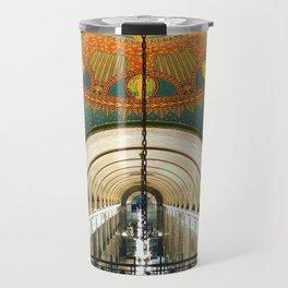 Art Deco Fisher Building Downtown Detroit Travel Mug