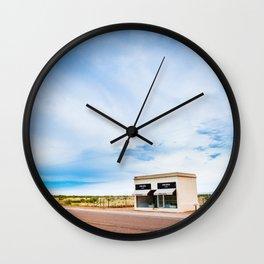 Roadside Attraction Wall Clock